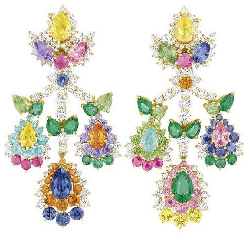Colored stones of Dior Fine Joaillerie new collection