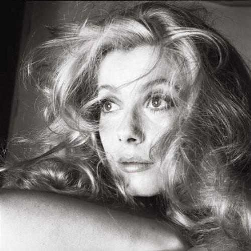 Innovative photographer Richard Avedon. Catherine Deneuve