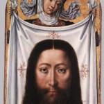 St Veronica with the Sudarium by the Master of Saint Ursula Legend c 1475-1500
