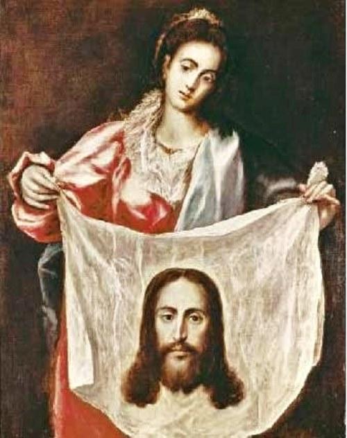 Secretos del Velo de la Verónica. Milagrosa  Santa Verónica de El Greco