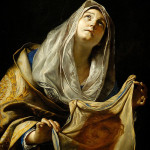 Saint Veronica With The Veil - Mattia Preti