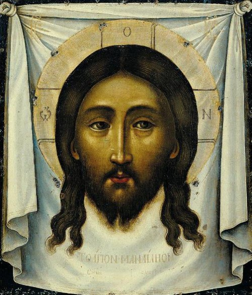 Secrets of the miraculous Veil of Veronica. Image of the Savior Made Without Hands: a traditional Orthodox iconography in the interpretation of Simon Ushakov (1658).