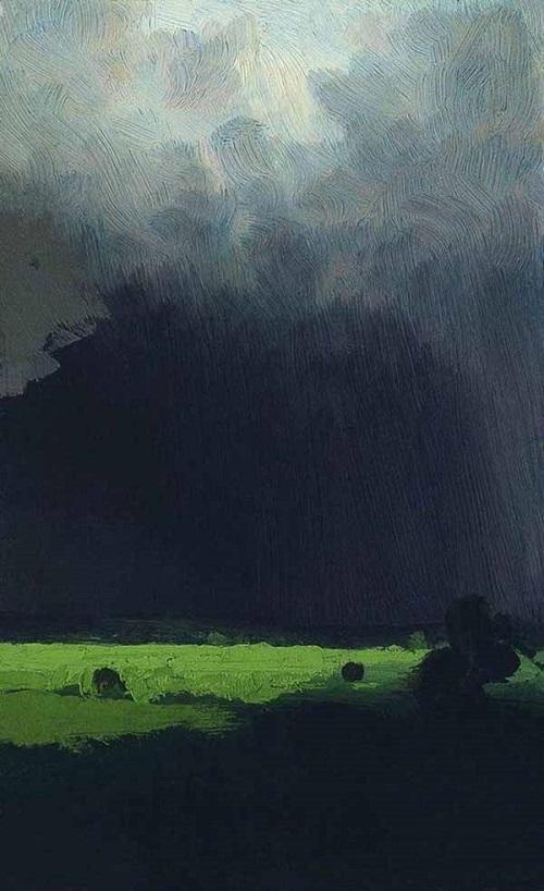 Russian landscape painter Arkhip Kuindzhi