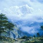 Ama Dablam-Lhotse And Everest