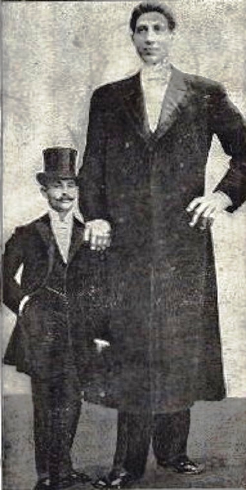 Fyodor Makhnov the tallest person on Earth