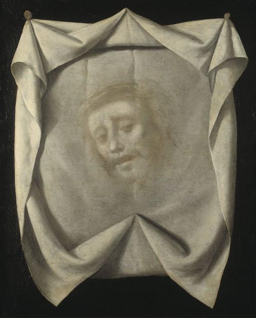 Francisco de Zurbarán - El Sudario de Santa Verónica.  Fecha entre 1658 y 1661