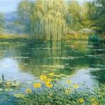 Giverny Lake-Autumn