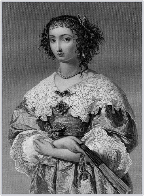 Henrietta Maria of France Medieval and Renaissance beauties