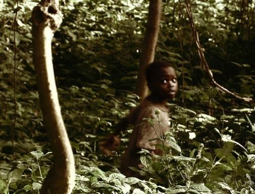 John Ssebunya, better known as the 'Monkey Boy of Uganda'