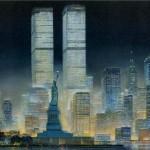 Liberty-New York Night