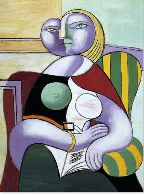 Marie-Therese Walter by Picasso
