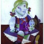 Maya with Doll. 1938
