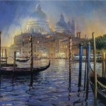 Night On The Grand Canal-Salute Church