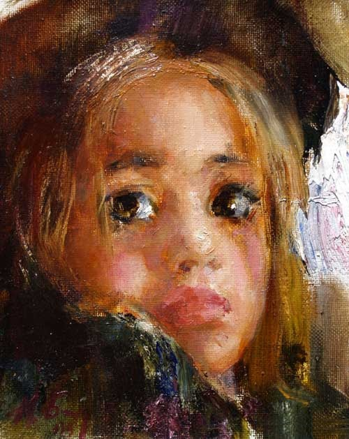 Painting by Russian artist Nikolai Blokhin