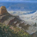 On The South Kaibab Trail-Grand Canyon