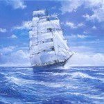 Ships In Falmouth Harbor