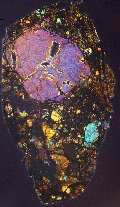 meteorite photographs by Jeff Barton