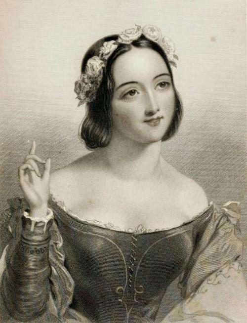Anna Page. Shakespearean beauties in Charles Heath engravings