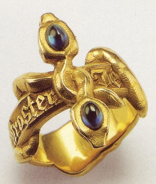 Art Nouveau jewellery. Wilhelm Lucas von Cranach (1861-1918)