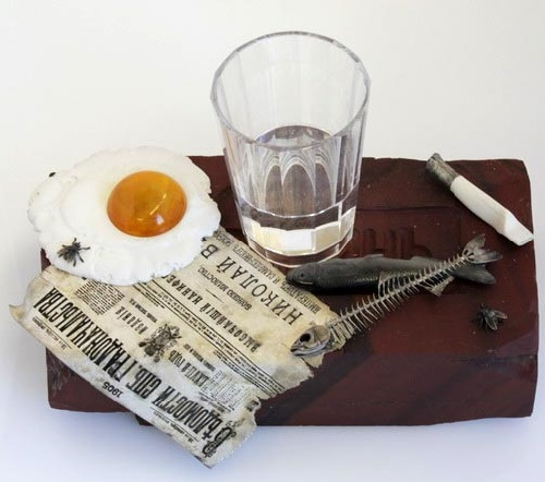 Hyperrealistic still life by Faberge