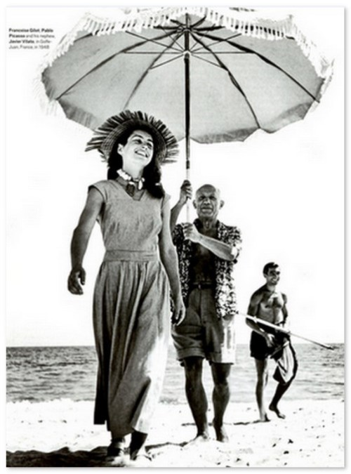 Francoise Gilot and Pablo Picasso