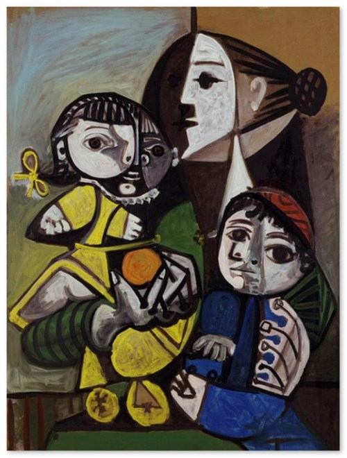 Mother and Child with Orange 1951