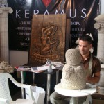 Talented and handsome artist Roman Khalilov
