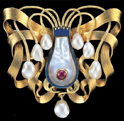 Art Nouveau jewelry by Wilhelm Lucas von Cranach