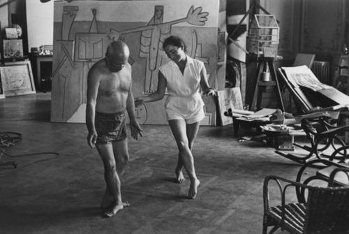 Jacqueline Roque and Pablo Picasso