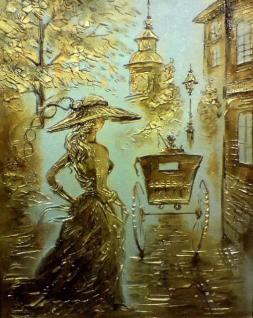 Caprice. artist Igor Grishin. Mixed technique. Canvas