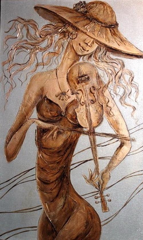 Melody of wind. Artist Igor Leonidovich Grishin, 2011. Mixed technique. Canvas
