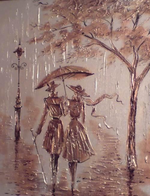 Morning, artist Igor Leonidovich Grishin, 2010. Expressionism, Mixed technique, Canvas