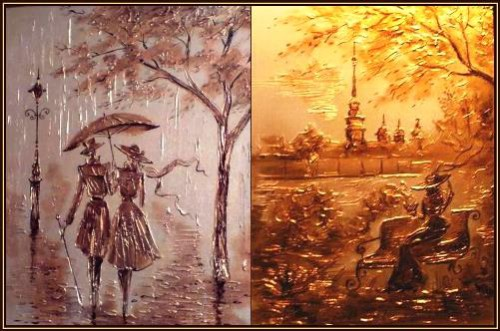 Painting by Russian artist Igor Leonidovich Grishin