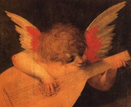 Rosso Fiorentino (1494-1540). Angel musician. 1520