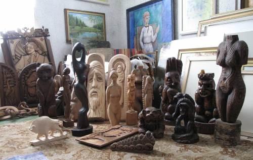 Works of Igor Grishin - sculpture, painting