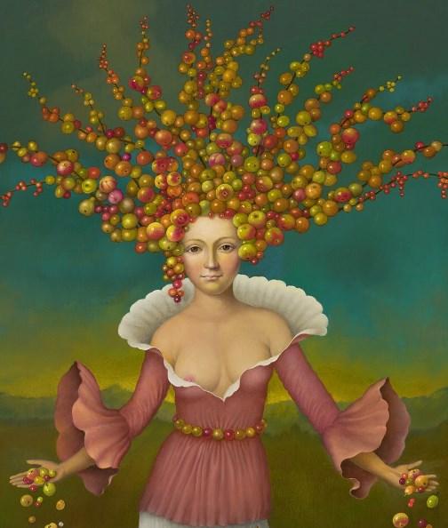 Digital painting of Nik Ainley