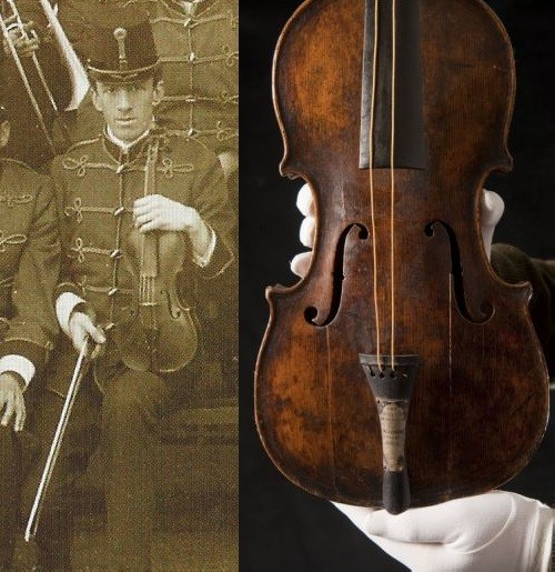 The Titanic violin sold at auction for 2 million dollars