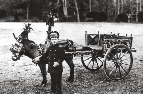 The prince with his donkey Vanka