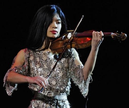 Asian beauty Vanessa Mae