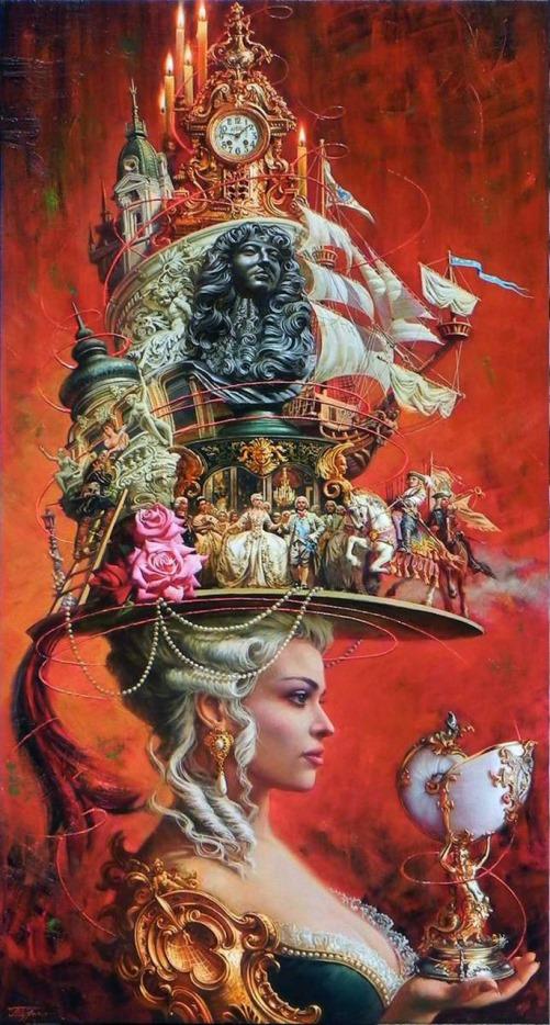 Russian artist Oleg Turkin