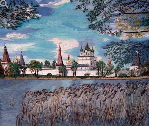 Stitch Embroidery by Galina Porokhnya