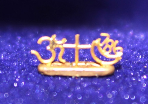 Gold miniature artist Venkatesh