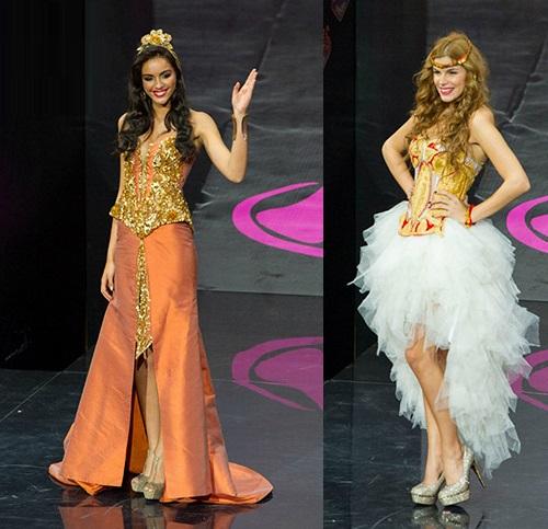 Backstage of Miss Belarus 2012