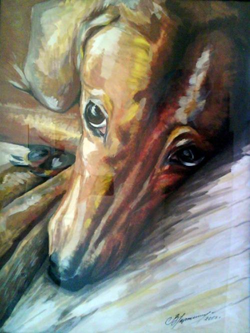 Animalist artist Viktoria Markelova