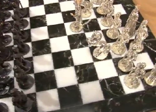 Precious chess by Ruslan Tymoshchuk