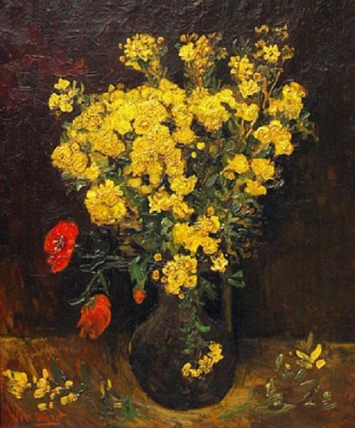 Vincent Van Gogh. Poppies. Most expensive stolen artworks