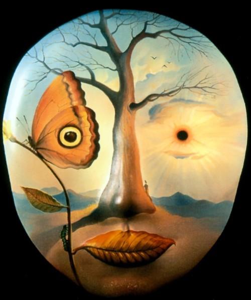 Surrealista del artista Vladimir Kush