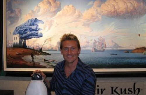 Surrealista artista joyero Vladimir Kush