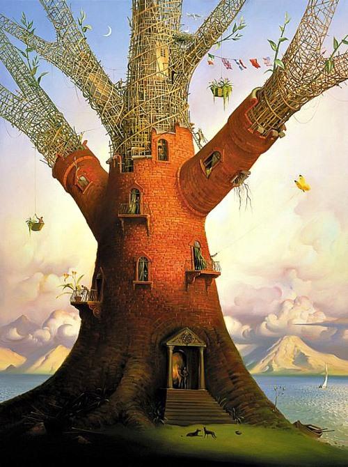 Pintura surrealista de Vladimir Kush