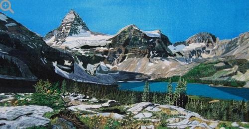 Beautiful mountains Danxia